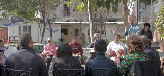 Open Drum Circle in Nepal