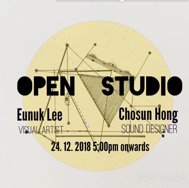 Open Studio Exhibition by two Korean Artists