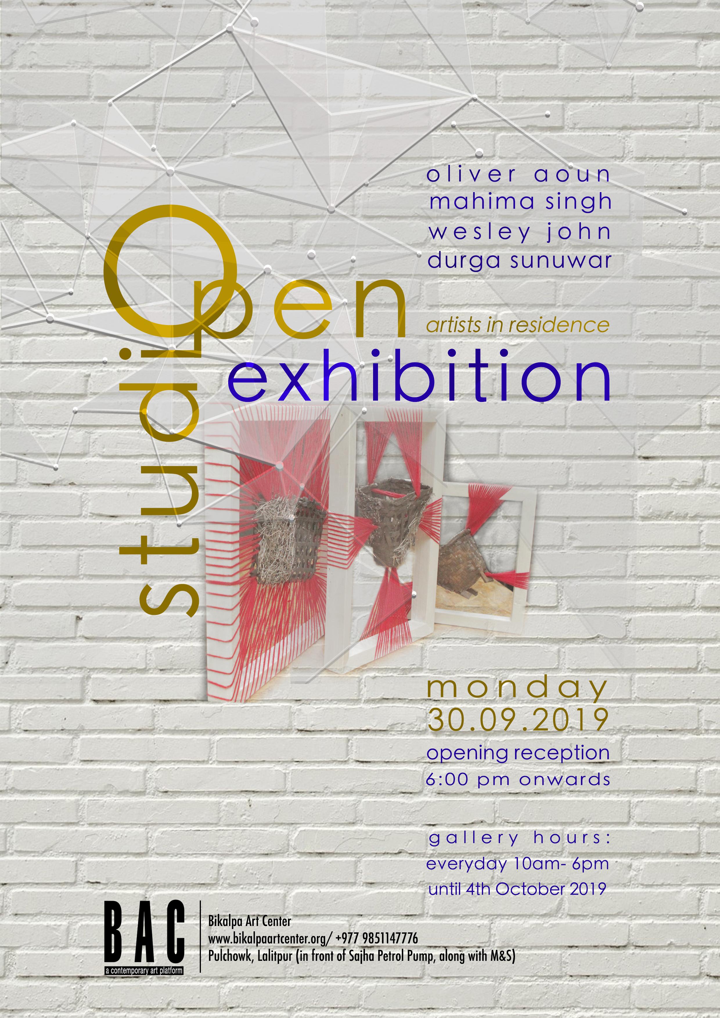 AIR Open Studio Exhibition 2019